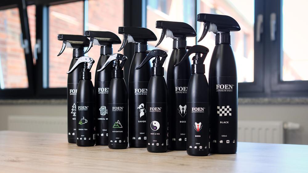 Zniewalający zapach w aucie - perfumy marki Foen już w sprzedaży!