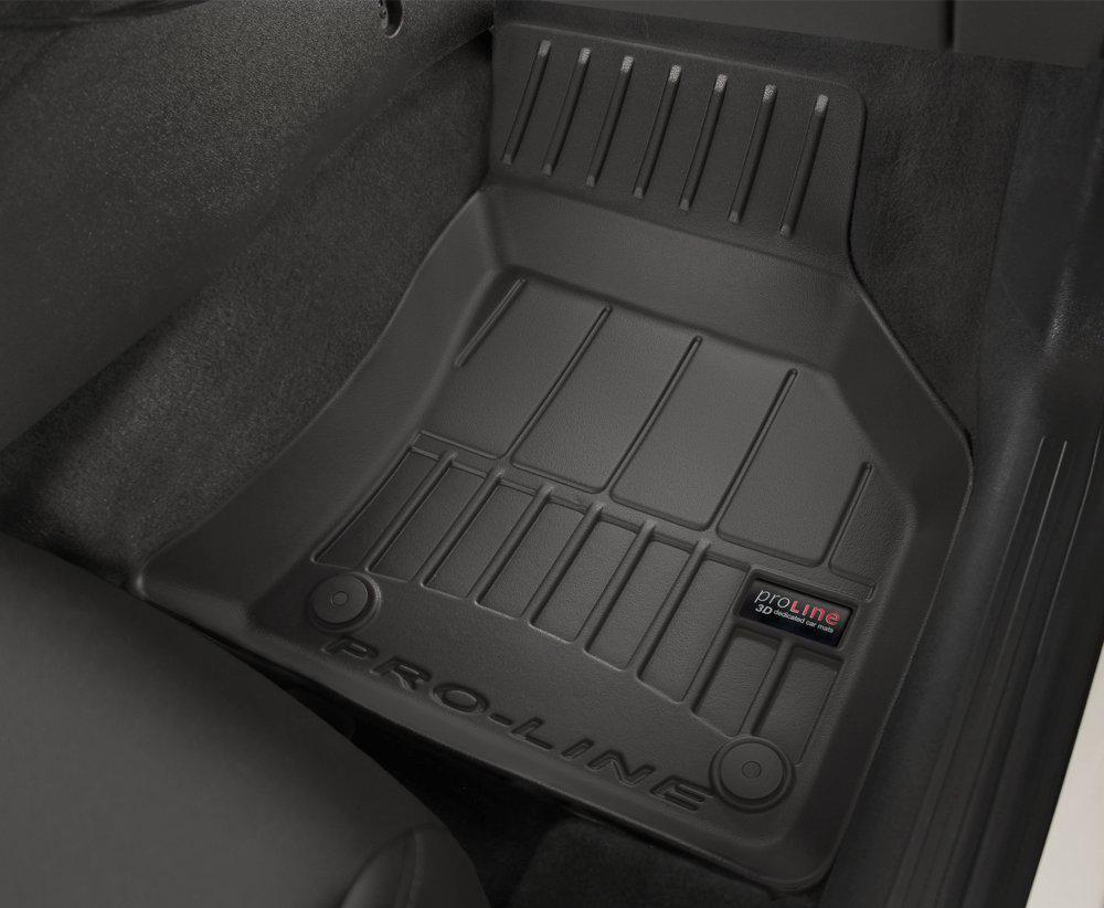 Gumowe Dywaniki Peugeot 207