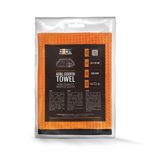 ADBL GOOFER TOWEL 35x35 cm Waflowy ręcznik do osuszania auta