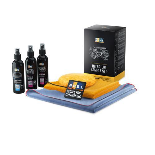 ADBL INTERIOR SAMPLE SET - Kosmetyki i akcesoria do pielęgnacji wnętrza