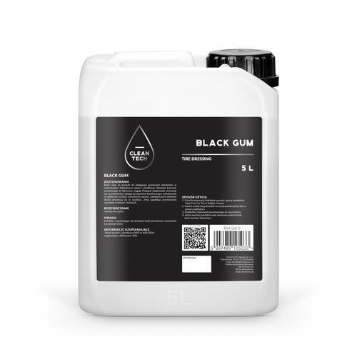 CleanTech Black Gum – Tire Dressing 5L - Produkt do pielęgnacji gumowych elementów w samochodzie
