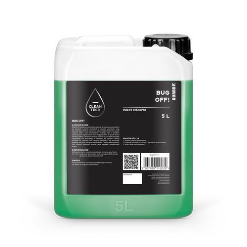 CleanTech BUG OFF! 5L - produkt do usuwania owadów
