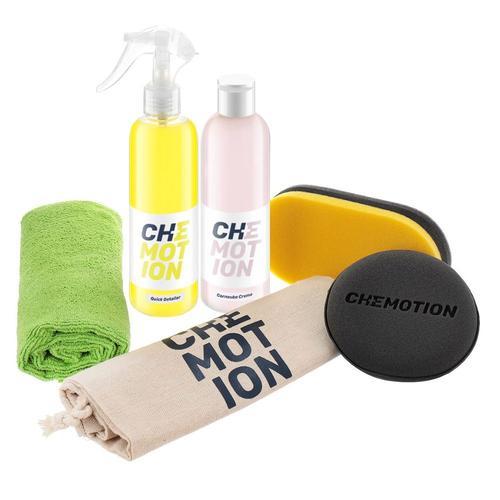 Chemotion Carnauba Set - zestaw do pielęgnacji lakieru na bazie wosku Carnauba