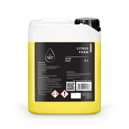 CleanTech Citrus Foam 5L Aktywna Piana