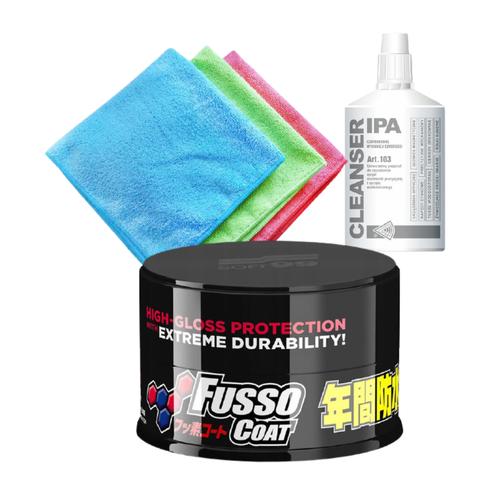 Soft99 Fusso Coat 12 Months Wax Dark New - Do ciemnych lakierów
