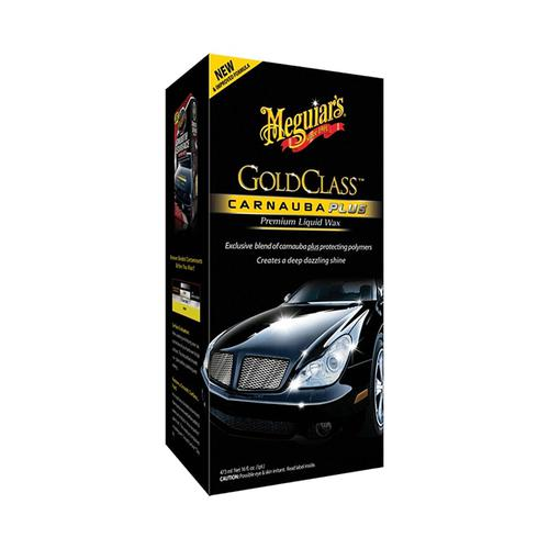 MEGUIAR'S Gold Class Carnauba Plus Wax Liquid 473ml Wosk w płynie