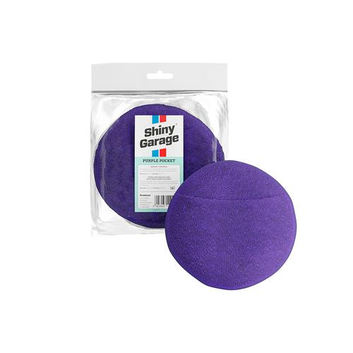 Shiny Garage Purple Pocket Microfiber Applicator / Aplikator z mikrofibry