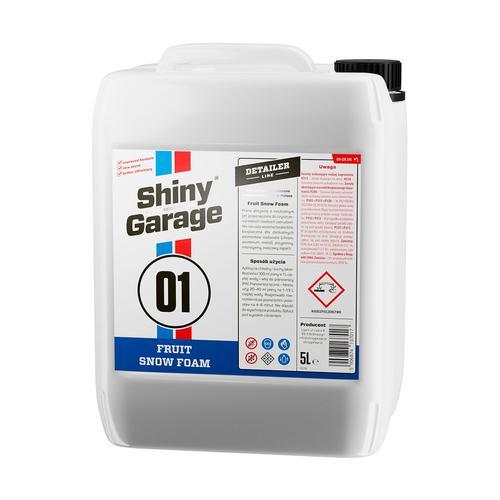 Shiny Garage Fruit Snow Foam 5L Neutralne pH Aktywna piana o zapachu owocowym