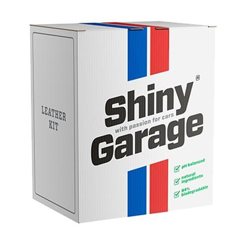 Shiny Garage Leather Kit Soft Zestaw do czyszczenia i zabezpieczania skór