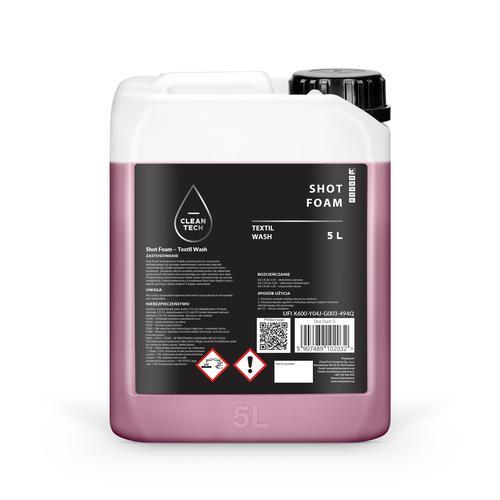 CleanTech Shot Foam 5L - środek do prania tapicerki