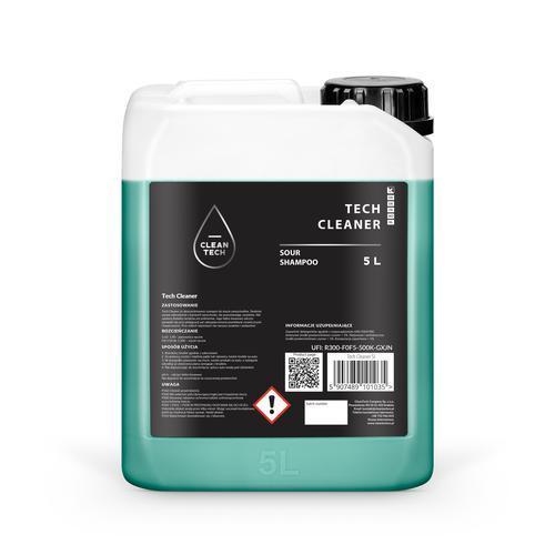 CleanTech Tech Cleaner 5L - Kwasowy mocno skoncentrowany szampon