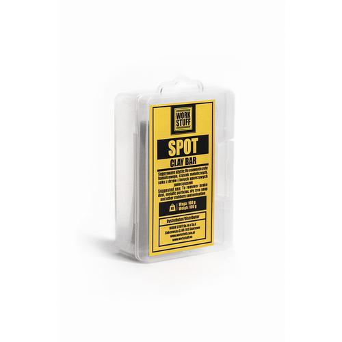 WORK STUFF SPOT Clay Bar 100g - Glinka do auta (Twardość - Średnia)