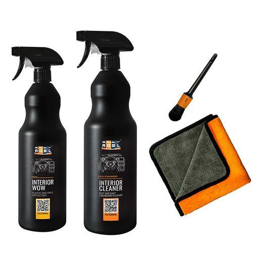 ADBL Zestaw do czyszczenia i pielęgnacji wnętrza