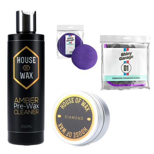 Zestaw premium do woskowania - Zestaw detailingowy