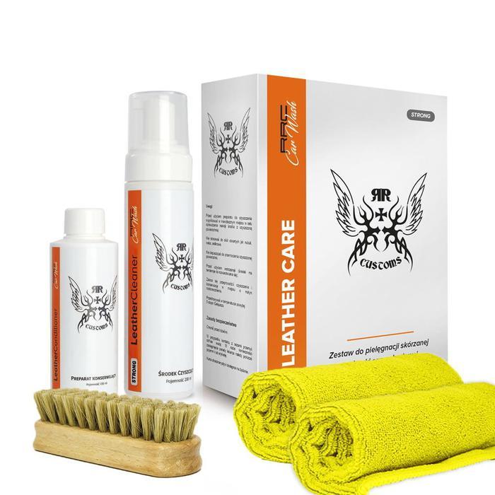 RRC Leather Cleaner Soft BOX Zestaw do czyszczenia skór