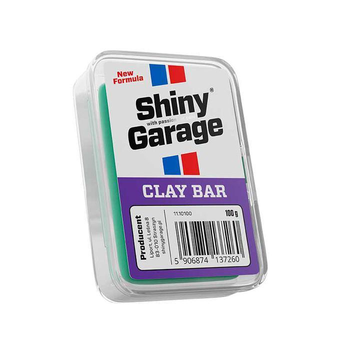 Shiny Garage Clay Bar 100g Delikatna glinka (miękka)