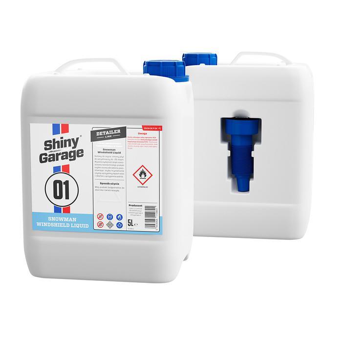 Shiny Garage Snowman Windshild Liquid 5L Zimowy płyn do spryskiwaczy