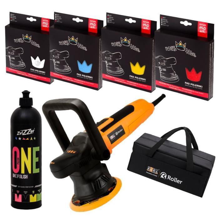 ADBL Roller DA09125-01+ B + torba + Zestaw padów Royal Pads  + pasta Zvizzer
